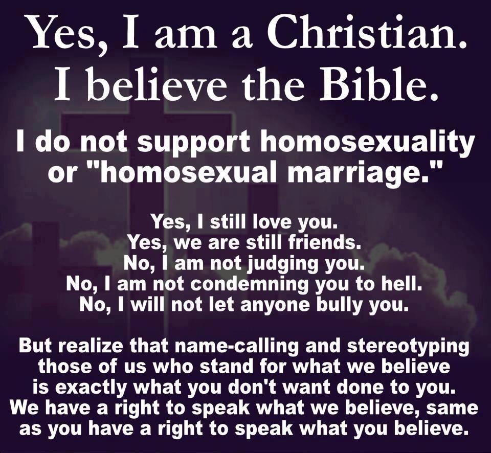 Christian-homophobic