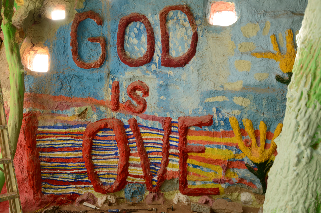 California Vacation-Salvation Mountain