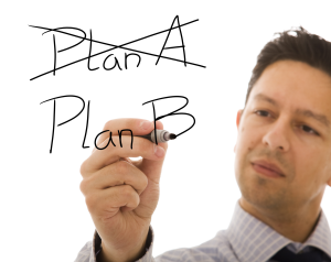Plan B-whiteboard