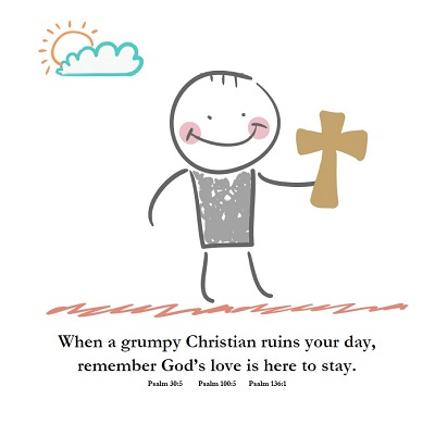 "A page from ""Mr. Grumpy Christian"""
