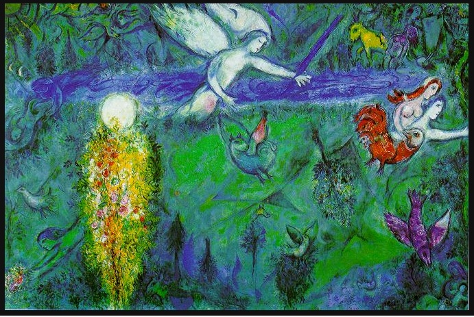Eden by Marc Chagall